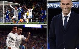 """Zidane """"nổ"""" tưng bừng, dùng từ đặc biệt khi nói đến Ronaldo"""