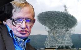 Stephen Hawking nói rằng việc liên lạc với người ngoài hành tinh chứa đựng rất nhiều nguy hiểm