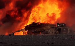Chớ đùa với lửa, xe tăng hiện đại như M1 Abrams Mỹ cũng cháy như bó đuốc!