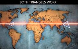 """Phát hiện 2 """"tam giác quỷ"""" đối xứng trên tọa độ Trái Đất: Giới khoa học """"điên đầu"""" giải mã"""