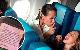 Con quấy nhiễu và cách xử lý người mẹ khiến cho cả máy bay phải nín lặng