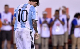 Thua 3 chung kết liên tiếp, Messi tuyên bố giã từ ĐT Argentina