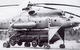 Mi-10RVK - Tổ hợp trực thăng-tên lửa bí mật của Liên Xô