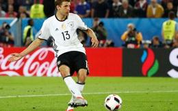 Thomas Mueller: 'Từ giờ tới hết EURO, tôi cạch không đá penalty'