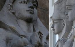 Khách sạn bị chỉ trích vì trưng bày 10 bức tượng người Ai Cập cổ khổng lồ đầy phản cảm
