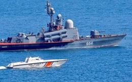 Tàu Thổ Nhĩ Kỳ bảo vệ tàu tên lửa Nga