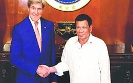 Ngoại trưởng Mỹ nói gì về biển Đông khi gặp Tổng thống Philippines?