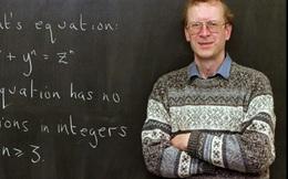Nhận thưởng 700 nghìn USD vì chứng minh được định lý làm đau đầu các nhà toán học suốt 400 năm qua