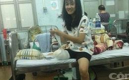 Gia đình nữ sinh bị cưa chân phải đóng tiền viện phí?