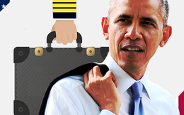 Tổng thống Obama thăm Việt Nam có mang theo vali hạt nhân không?