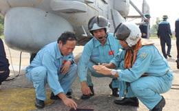 Trải nghiệm 1 ngày huấn luyện của phi công Không quân Hải quân VN