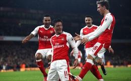 """Lội ngược dòng dễ dàng, Arsenal """"ngồi tạm"""" ngôi đầu Premier League"""