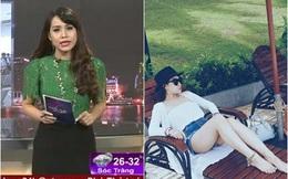 Phong cách đời thường của nữ BTV 2 lần dính sự cố váy áo