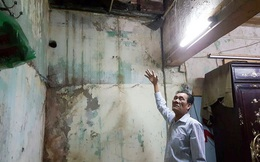 Nơm nớp lo sợ sống trong ngôi nhà hơn 100 năm tuổi chờ sập ở phố cổ Hà Nội