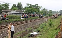 Nam sinh chết thảm vì băng qua đường ray