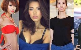"""Hành trình """"vịt hóa thiên nga"""" của 4 siêu mẫu Việt"""