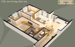 Mua căn hộ 3 phòng ngủ chỉ với 1 tỷ đồng
