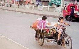Sự thật đáng suy ngẫm đằng sau bức ảnh cô bé đạp xe ba gác gây bão cộng đồng mạng