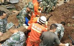 Lở đất tại Trung Quốc, số người thiệt mạng tăng lên 20