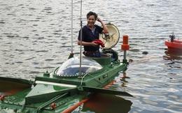 Hình ảnh độc khi tàu ngầm mini Hoàng Sa ra đại dương