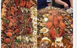 """Nồi lẩu 2 triệu """"ngập mặt"""" ở Hà Nội đang khiến dân mạng sốt vó muốn đi ăn, thực ra là..."""