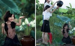 """Hậu trường """"thấy vậy mà không phải vậy"""" của bức ảnh bé gái Việt cạnh hoa sen lên báo Tây"""
