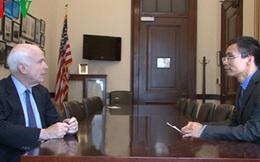 Thượng nghị sỹ John McCain ra tuyên bố hoan nghênh phán quyết của PCA
