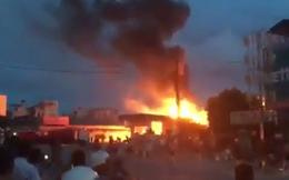 Cây xăng tại Quảng Ninh cháy dữ dội gần 3 giờ liên tục
