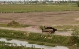 Lộ diện vụ chôn chất thải ở Nam Định