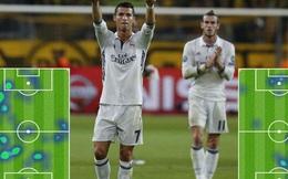 Ronaldo, Gareth Bale đã thay đổi tích cực thế nào trước Dortmund?