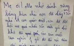 Bức tâm thư của cậu bé 10 tuổi gửi mẹ khiến người lớn phải giật mình