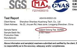 """Nguyên liệu """"bột trà Ô long Tea"""" bị phát hiện nhiễm chì và thạch tín cực nặng?"""