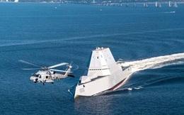 Tàu khu trục USS Zumwalt - bảo bối của Hải quân Mỹ