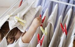 Cẩn thận nguy cơ u nấm phổi, xuất huyết, tử vong nhanh chỉ vì phơi quần áo không đúng cách ngày mưa