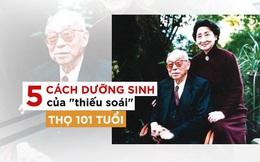 """""""Thiếu soái"""" đẹp trai sở hữu 5 bí quyết sống đến 100 tuổi nổi tiếng Trung Quốc"""