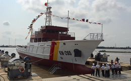 Hạ thủy tàu hiện đại của Kiểm ngư Việt Nam