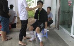 Nổ bình gas, 10 học sinh bị bỏng