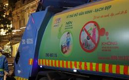 """Xe rác cực thú vị ở Hà Nội: Đi đâu cũng bật nhạc """"Có sạch đẹp mãi được không tùy thuộc vào bạn"""""""