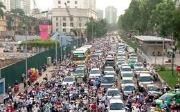 Chống ùn tắc giao thông Hà Nội: Áp lực gia tăng, tiến độ rùa bò