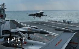 """Tàu sân bay Liêu Ninh bất ngờ lộ diện bằng thông báo bất thường: Biển Đông """"dậy sóng""""?"""