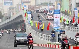 Thông xe cầu vượt khủng tại nút giao 'nóng' Hà Nội