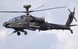 """Trực thăng Apache """"rụng"""" khi đang bay huấn luyện"""
