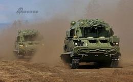 Mục sở thị tên lửa Tor-M2U hành quân vào trận địa