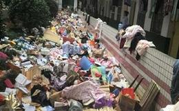 Kinh hãi ký túc xá sinh viên như bãi rác khổng lồ