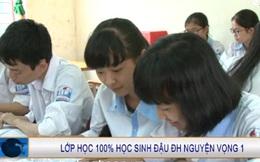 Ngưỡng mộ lớp học có 100% học sinh đỗ Đại học tại Nghệ An