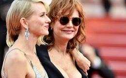 Sao 70 tuổi mặc hở bạo gây choáng ở Cannes