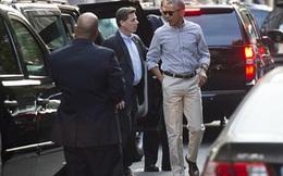"""Ông Obama """"hẹn hò"""" cùng vợ ở nhà hàng Mexico sau khi về nước"""