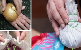 Hành tây không chỉ để ăn, mẹ có thể chữa 6 loại bệnh cho con nhờ chiêu rẻ tiền này