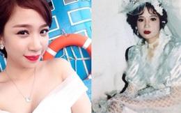 Ngày xưa khi làm cô dâu, mẹ còn xinh đẹp rạng rỡ hơn con gái bây giờ
