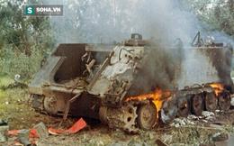 Xe tăng Việt Nam bắn xuyên táo, diệt cùng lúc 2 thiết giáp M113!